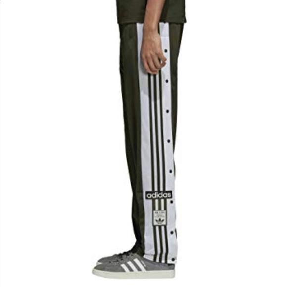 Adidas Originals Adibreak Track Pants Green XS S